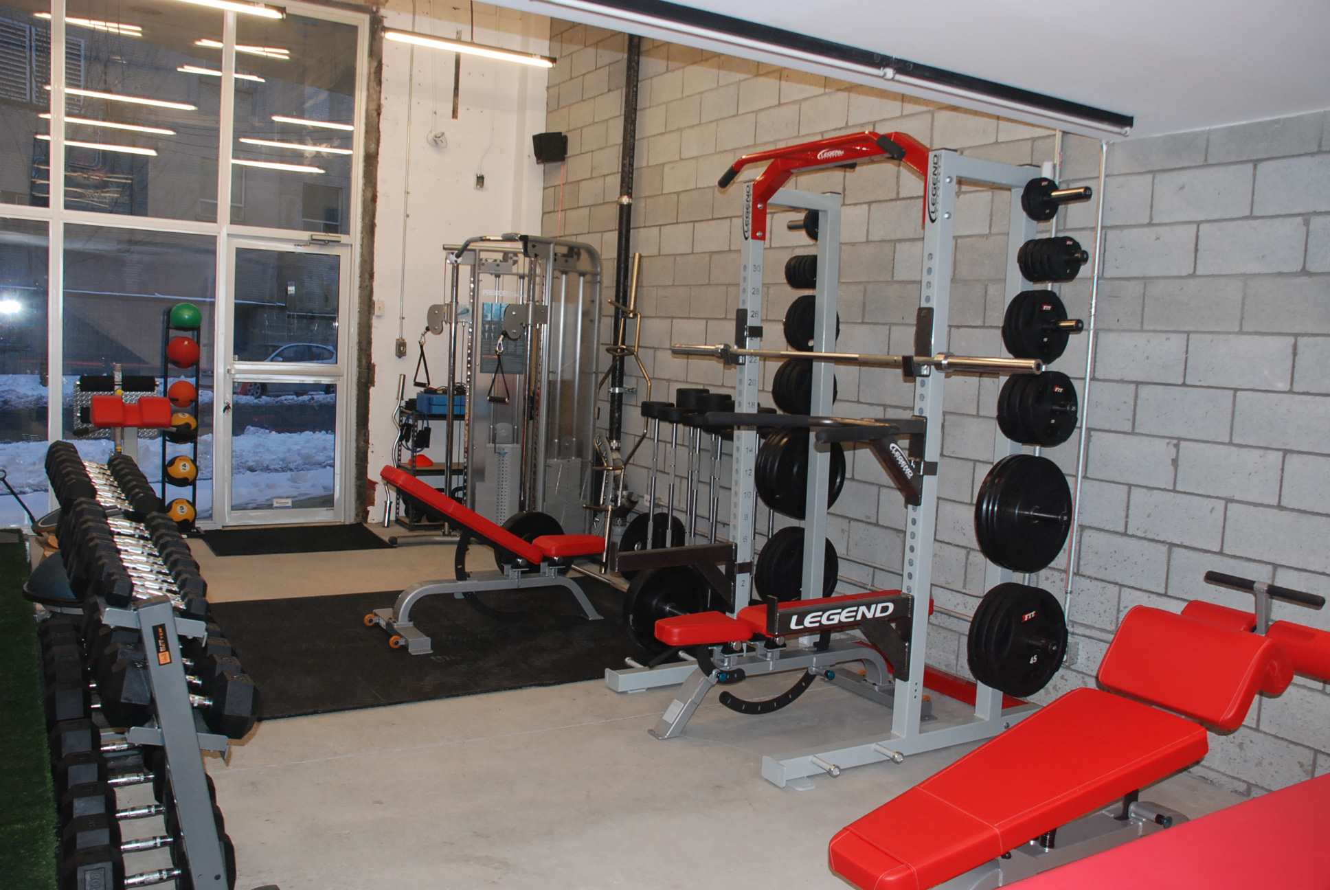Legend Half Rack & Functional Trainer.